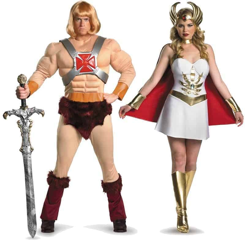 He-Man and She-Ra Couples Costumes
