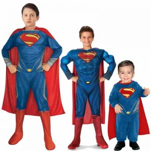 Man Of Steel Costume For Kids