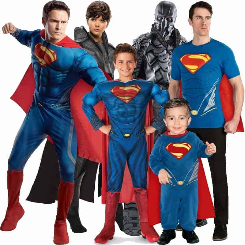 Man Of Steel Halloween Costumes