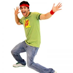 Sun Drop Guy Costume