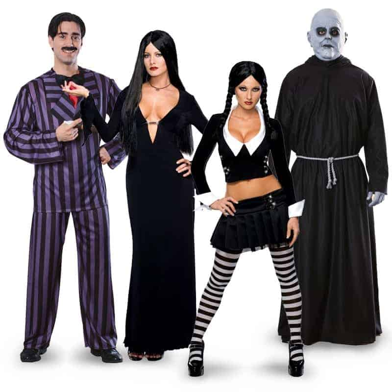 Addams Family Halloween Costumes