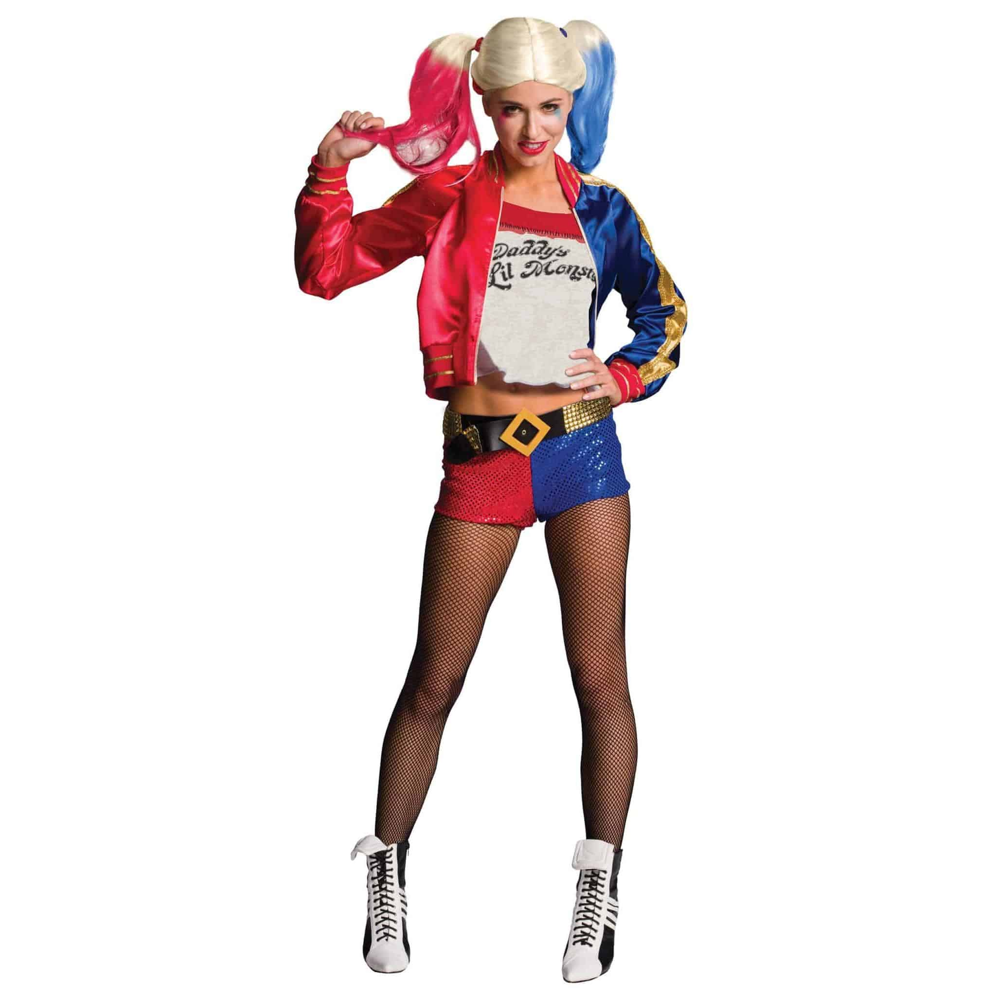 Deluxe Harley Quinn Suicide Squad Costume