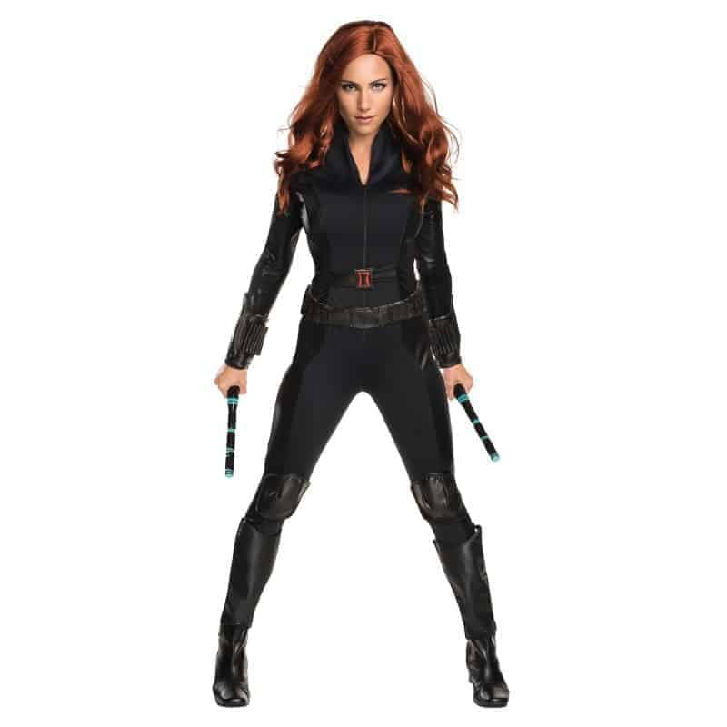 black widow civil war costume