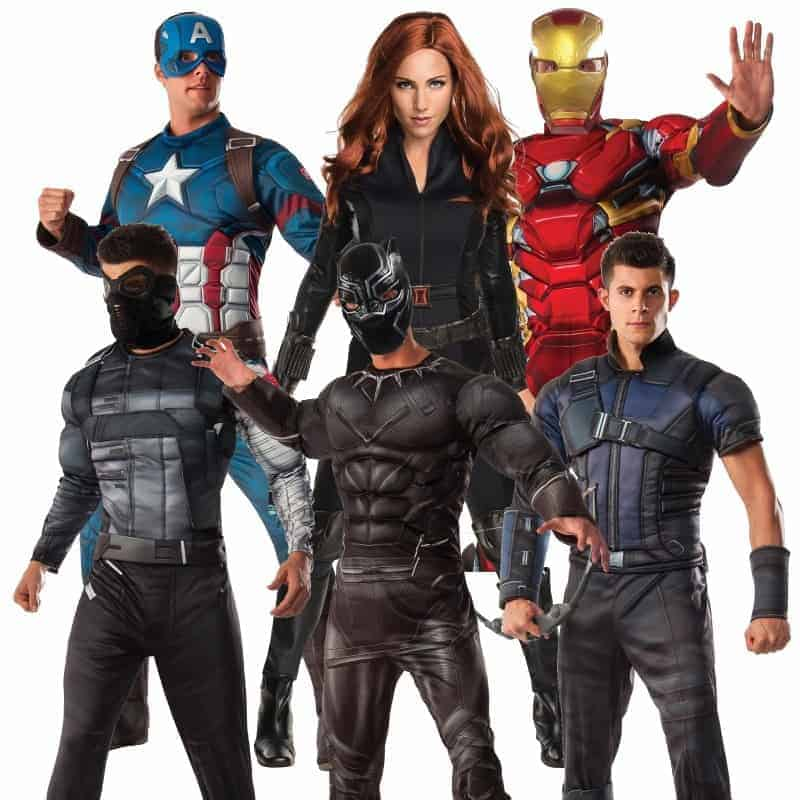 captain america civil war costumes