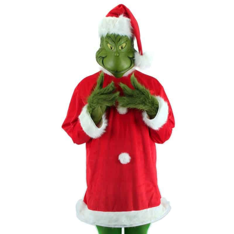 Jim Carrey Grinch Costume