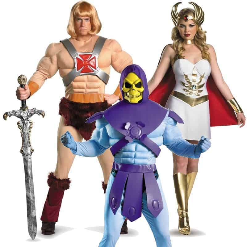 masters of the universe costumes he man she ra halloween. Black Bedroom Furniture Sets. Home Design Ideas