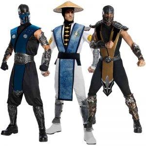 Mortal Kombat Halloween Costumes For Men