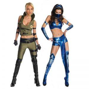 Mortal Kombat Halloween Costumes For Women