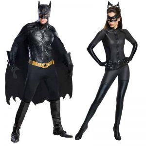 Dark Knight Rises Batman and Catwoman Costumes