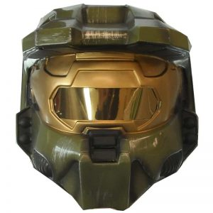 Halo 3 Master Chief 2 Piece Vacuform Mask