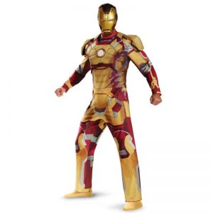 Iron Man 3 Mark 42 Adult Costume