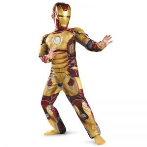 Iron Man 3 Mark 42 Kids Costume