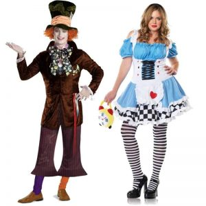 Mad Hatter and Alice In Wonderland Couples Costumes