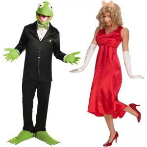 Muppets Kermit The Frog And Miss Piggy Couples Costumes