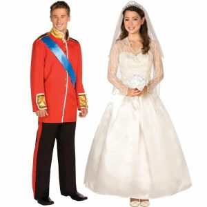 Royal Prince William And Kate Middleton Couples Costumes