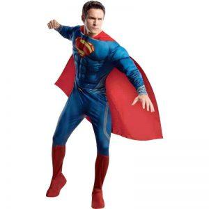 Superman Man of Steel Deluxe Adult Costume