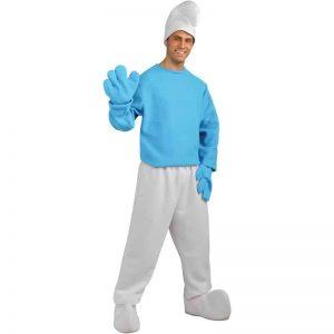 Deluxe Smurf Costume
