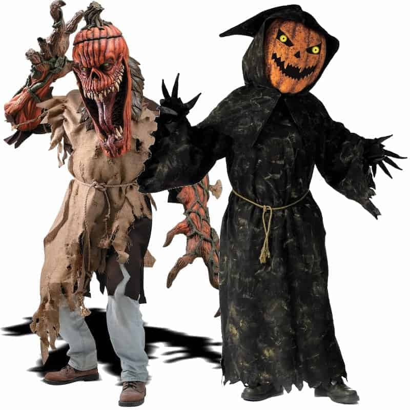 Scary Pumpkin Halloween Costumes Ideas