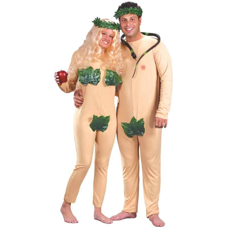 Adam and Eve Costumes For Couples Halloween 2016