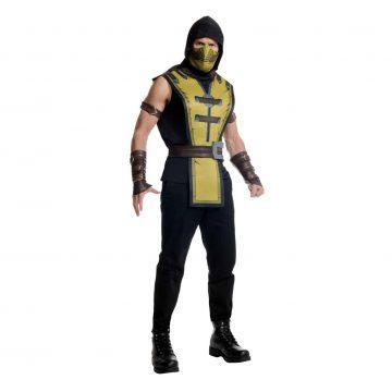 Mortal Kombat X Scorpion Costume