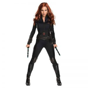 black widow civil war costume for Halloween